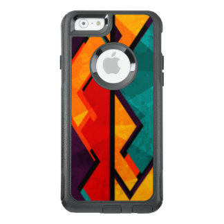 African Multi Colored Pattern Print Design OtterBox iPhone 6/6s Case