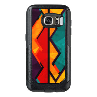 African Multi Colored Pattern Print Design OtterBox Samsung Galaxy S7 Case