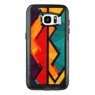 African Multi Colored Pattern Print Design OtterBox Samsung Galaxy S7 Edge Case