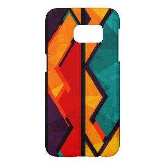 African Multi Colored Pattern Print Design Samsung Galaxy S7 Case