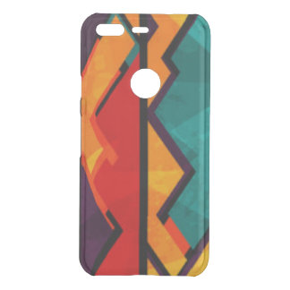 African Multi Colored Pattern Print Design Uncommon Google Pixel Case