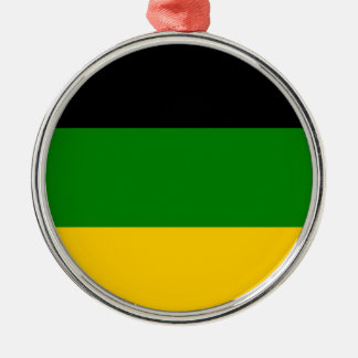 African National Congress ANC South Africa Metal Ornament