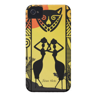 African Native iPhone 4 Case