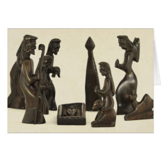 African Nativity Scene Cards