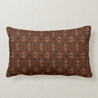 African Pattern Lumbar Pillow