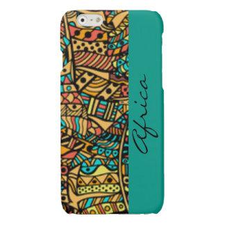 African Pattern Print Design Typography