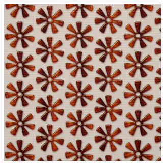African  pattern with Adinkra simbols. Fabric