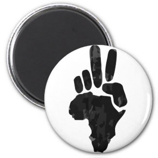 African Peace 2 Inch Round Magnet