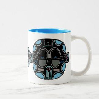 African Pop Two-Tone Coffee Mug