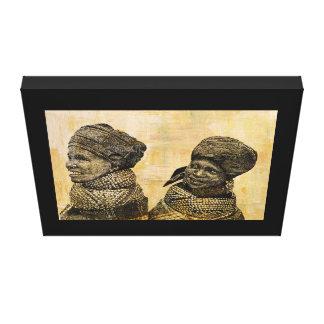 African portrait wall art