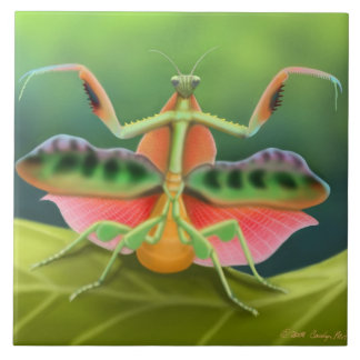 African Praying Mantis Tile