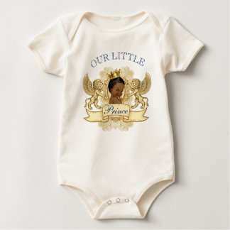 African Prince Royal Baby Shower Bodysuit