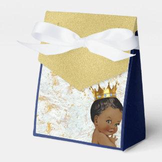 African Prince Royal Baby Shower Favor tent box Wedding Favor Box