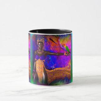 African Queen Mug