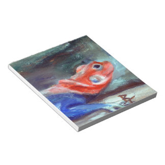African Rainbow Lizard Notepad