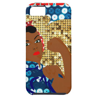 african rosie the riveter case for the iPhone 5