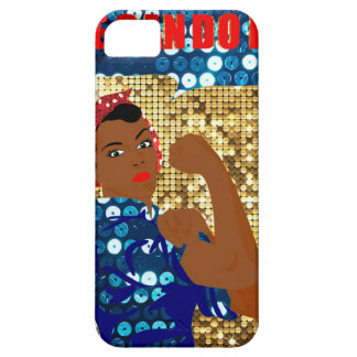 african rosie the riveter iPhone 5 cases