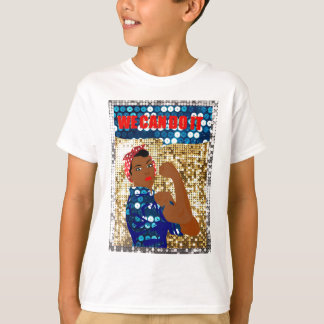 african rosie the riveter T-Shirt