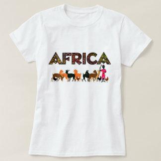 African safari  design t shirt