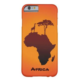 African Safari Map - iPhone Case