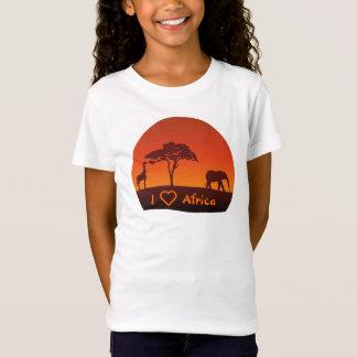 African Safari Silhouette - Kid's Shirt