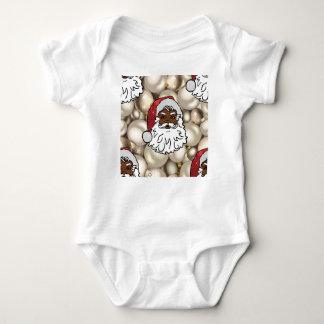 african santa claus baby bodysuit
