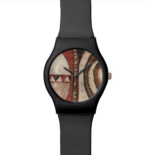 African Shield Watch
