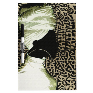 African Soul Art Dry Erase Board