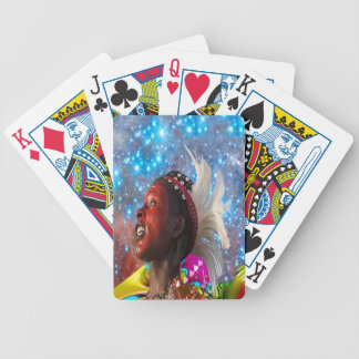 African Star Dreamer Bicycle Playing Cards