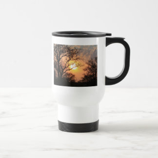 African Sunset - At the end of the day Travel Mug