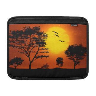 African Sunset MacBook Air Sleeves