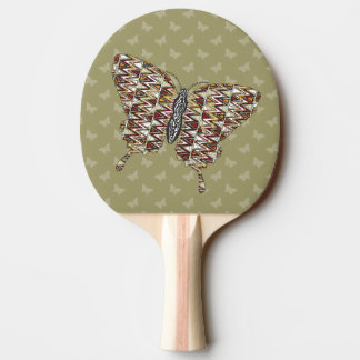 African Swallowtail Ping Pong Paddle