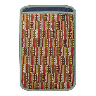 African textile pattern sleeve for Macbook Air