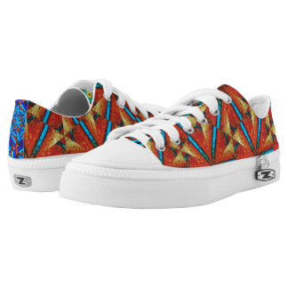 African Trade Beads - #4 Low-Top Sneakers