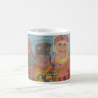 African Tradition Basic White Mug