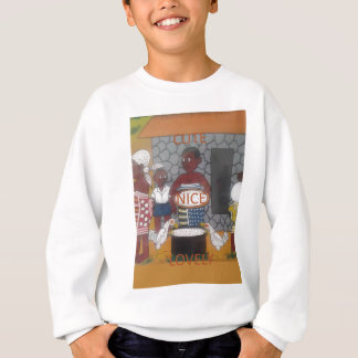 African traditional homestead cute nice lovely col sweatshirt