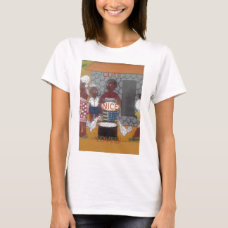 African traditional homestead cute nice lovely col T-Shirt