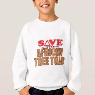 African Tree Toad Save Sweatshirt
