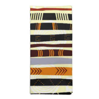 African Tribal  Abstract Art Napkin