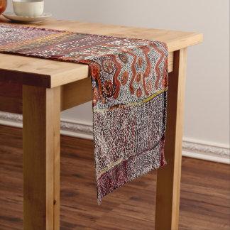 African Tribal Abstract Art Short Table Runner