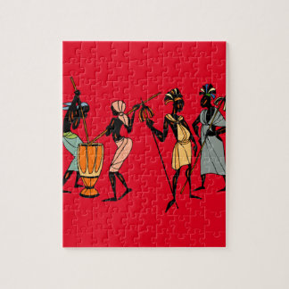 African tribal art jigsaw puzzle