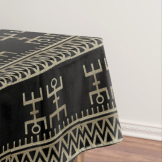 African Tribal Dance Tablecloth