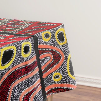 African Tribal Design Tablecloth