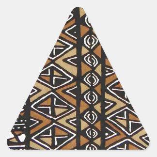 African Tribal Design Triangle Sticker