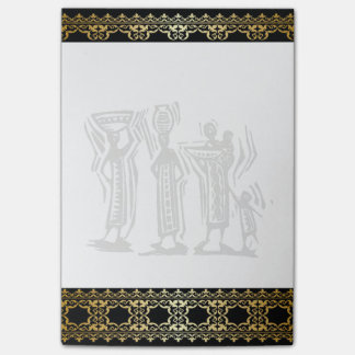 African Tribal Feast  Notepad