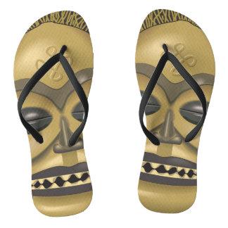 AFRICAN TRIBAL FLIP FLOPS