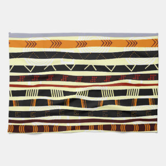 African Tribal Graphic Kitchen Towel