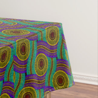 African Tribal Pattern Tablecloth