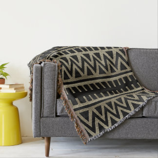 African Tribal Pattern Throw