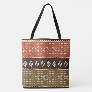 African Tribal Pattern Tote Bag